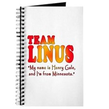 TEAM LINUS with Ben Linus Quote Journal