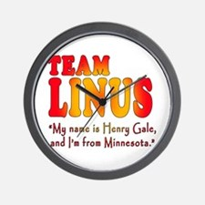 TEAM LINUS with Ben Linus Quote Wall Clock
