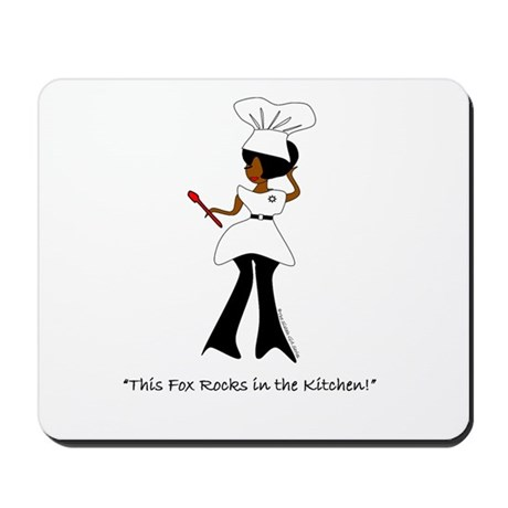 """Foxy Chef!"" Mousepad"