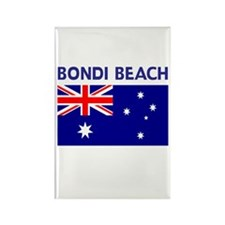 LOST Bondi Beach Rectangle Magnet