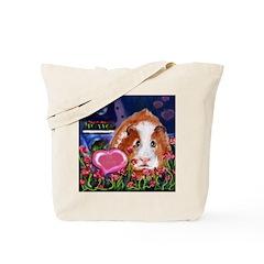 GUINEA PIG Valentine Tote Bag