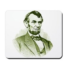Abe Lincoln Mousepad