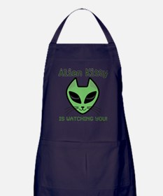 Funny Cat eyes Apron (dark)