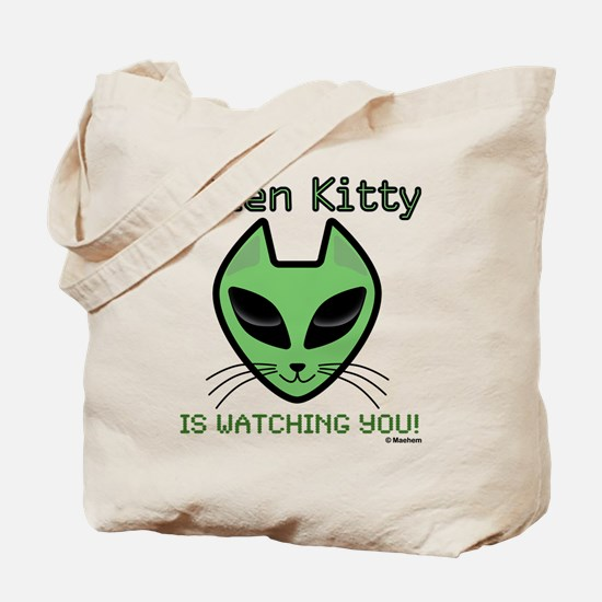 Funny Spaceship Tote Bag