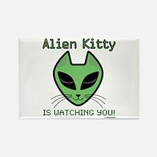 Cute Alien Rectangle Magnet (10 pack)