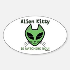 2-AlienKitty-IsWatching Decal