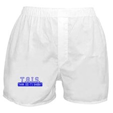 Thank God It's Shabbat! Boxer Shorts