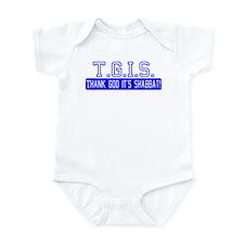 Thank God It's Shabbat! Infant Bodysuit