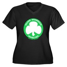 Silver Shamrock Novelties Women's Plus Size V-Neck