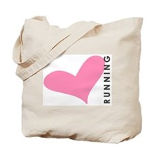 <3 Running Tote Bag