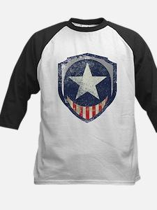 Captain Liberty Vintage Kids Baseball Jersey