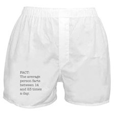 Fart Fact Boxer Shorts