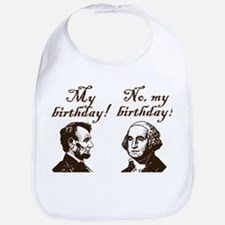 Presidents' Birthday Bib