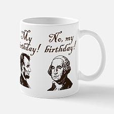 Presidents' Birthday Mug