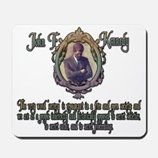 JFK on Secret Societies Mousepad