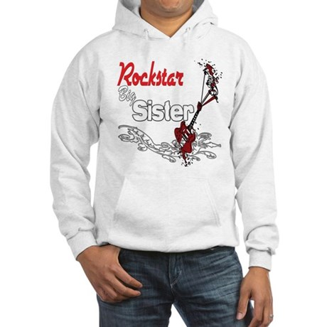 Rockstar Big Sister Hooded Sweatshirt