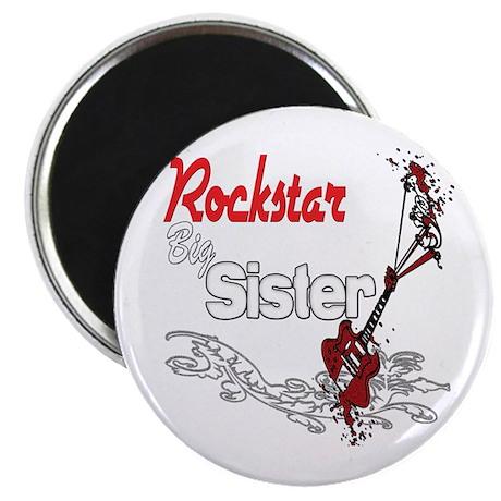 """Rockstar Big Sister 2.25"""" Magnet (10 pack)"""