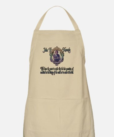 JFK on the Best or Last Gener Apron