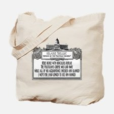 The Politician's Funeral Tote Bag