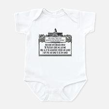 The Politician's Funeral Infant Bodysuit