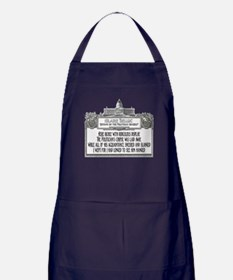 The Politician's Funeral Apron (dark)
