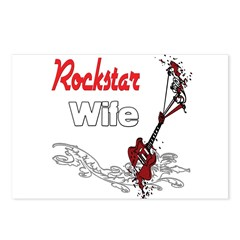 Rockstar Wife Postcards (Package of 8)