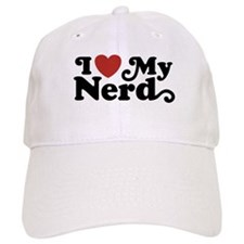 I Love My Nerd Baseball Cap
