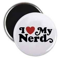I Love My Nerd Magnet