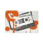 Mix Tape Rectangle Magnet (10 pack)