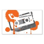 Mix Tape Sticker (Rectangle 10 pk)