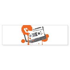 Mix Tape Bumper Sticker