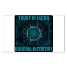 Trust in Jacob - Dharma Num Decal