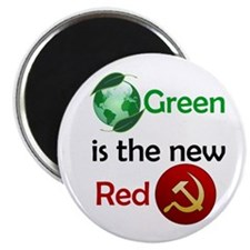 green new red button Magnets
