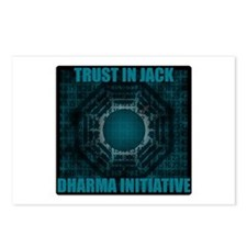Trust in Jack - Dharma Num Postcards (Package of 8