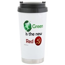 Green is the new Red Travel Mug