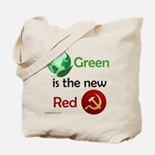 Green is the new Red Tote Bag