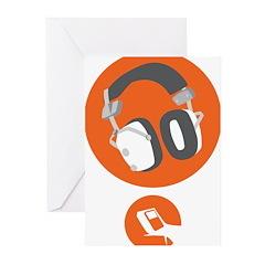 HiFi Headphone Greeting Cards (Pk of 10)