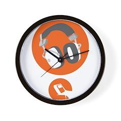 HiFi Headphone Wall Clock