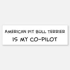 American Pit Bull Terrier Bumper Bumper Bumper Sticker