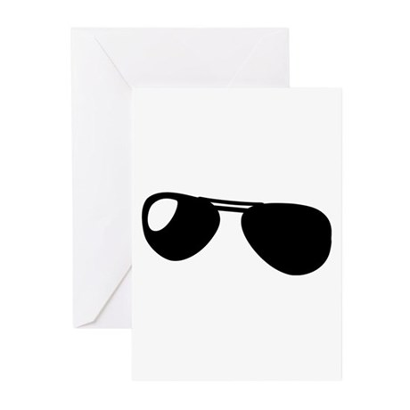 Sunglasses Greeting Cards (Pk of 10)