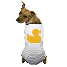 Rubber duck Dog T-Shirt