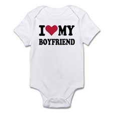 I love my boyfriend Infant Bodysuit