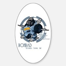 Bombad Oval Decal