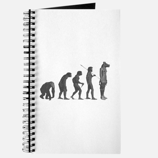 Evolution - Lost statue Journal