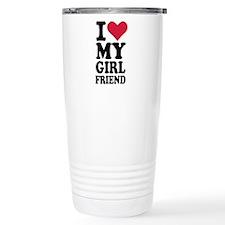 I love my girlfriend Travel Mug