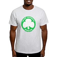 Silver Shamrock Faded T-Shirt