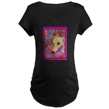 Shy Flower clothing Maternity Dark T-Shirt