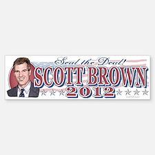 Seal The Deal Brown 2012 Sticker (Bumper)