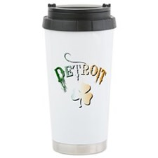 St. Patrick DETROIT Travel Mug
