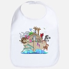 Cute Noahs ark Bib